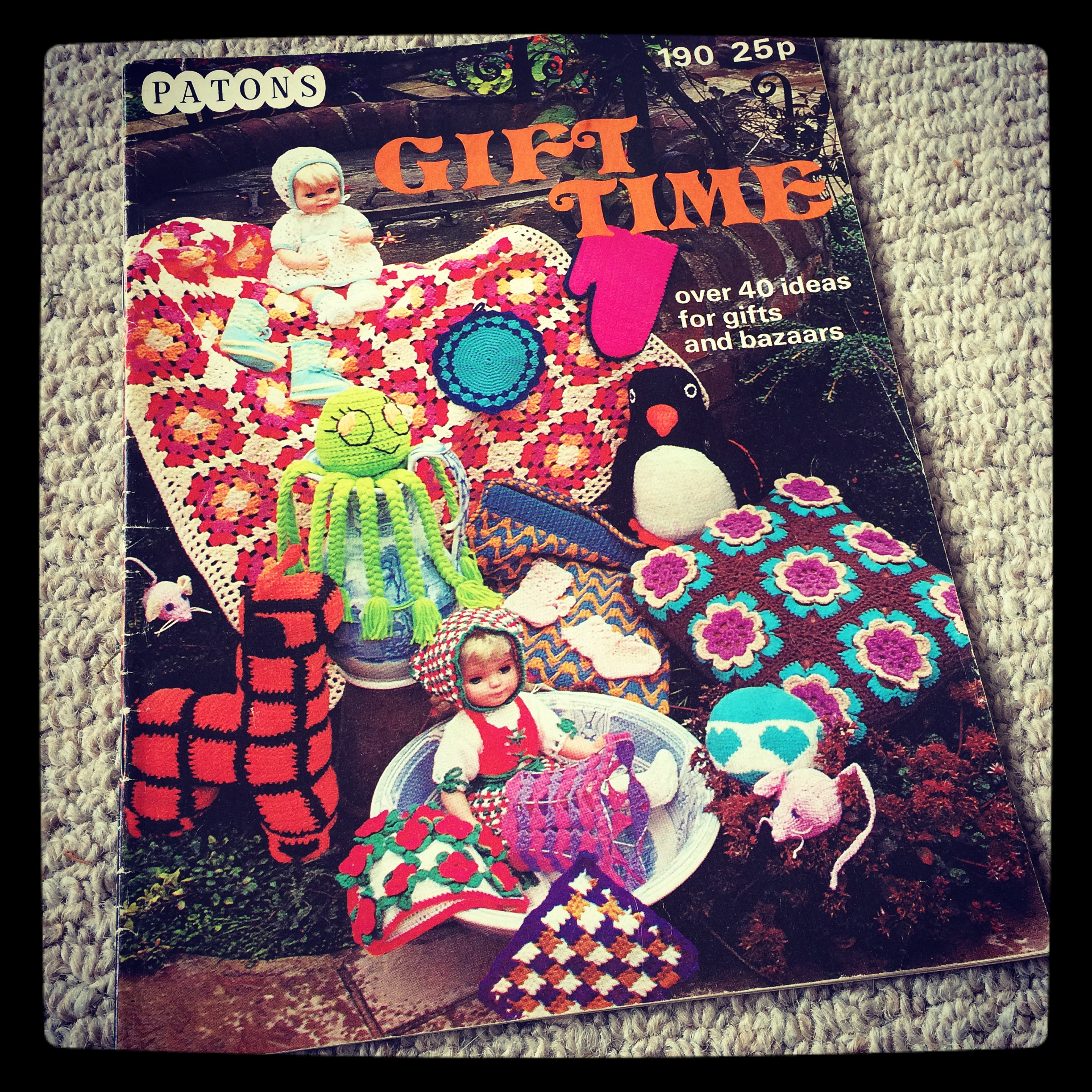 rosie and bright crochet vintage