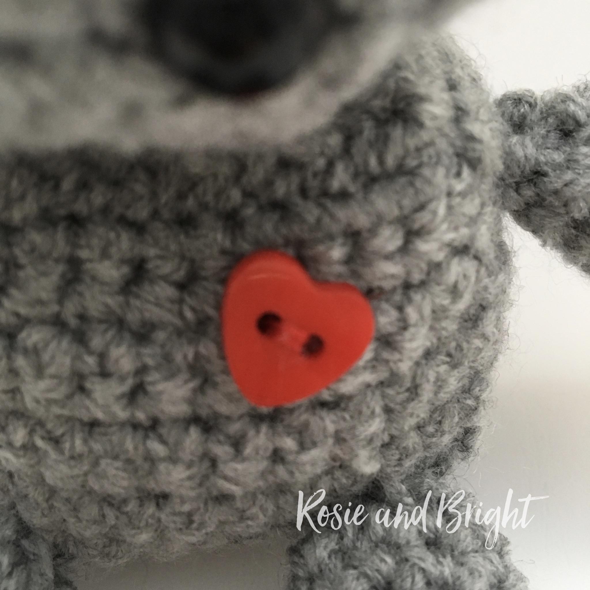 valentines gift ideas crochet robot