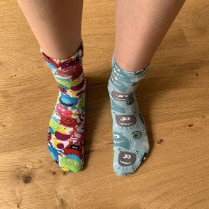 Well being Wednesday odd socks
