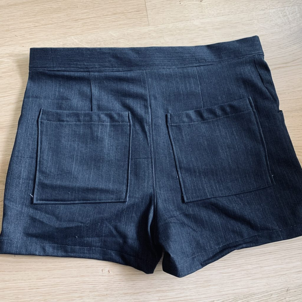 Rosie's latest make: lander pants (short version)